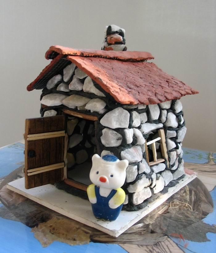 Поделка сказочные домики своими руками